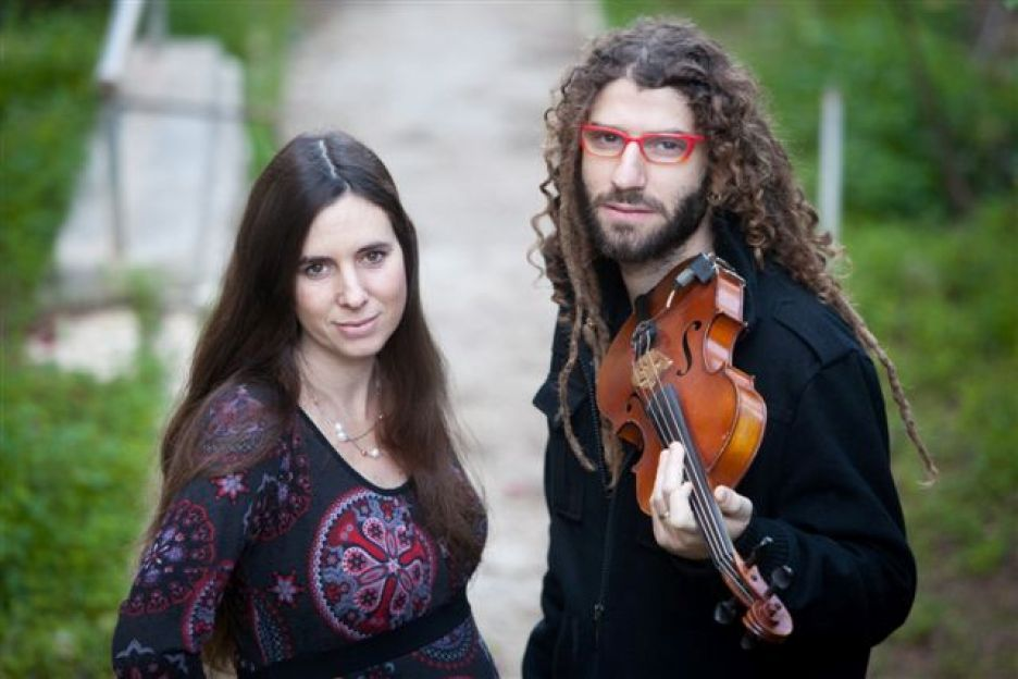 מיכאל ושמרית גריילסאמר. צילום: סלמן אמיל